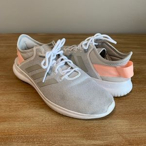 Adidas Cloudfoam Grey Orange Sneakers 10
